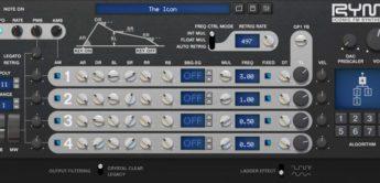 Inphonik RYM2612, 4-OP FM-Synthesizer Plugin