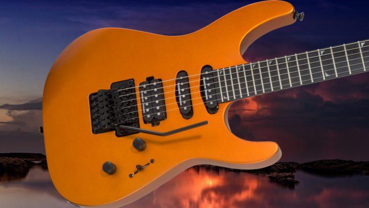 Jackson Pro SL3 Satin Orange Blaze