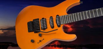Test: Jackson Pro SL3 Satin Orange Blaze, E-Gitarre