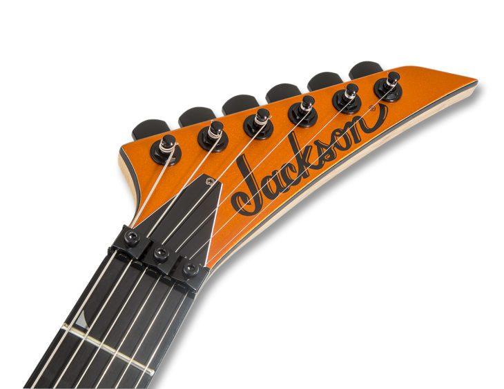 Jackson Pro SL3 Satin Orange Blaze Kopfplatte