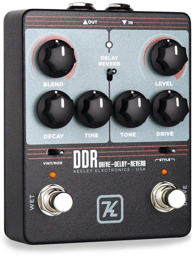 Keeley DDR Effekt Pedal für Gitarre