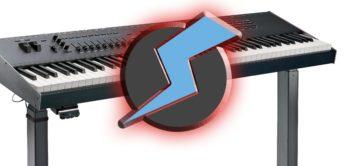 Namm 2019: Keyboardständer K&M Omega E mit Elektromotor