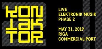 Kontaktor 2019: Elektronik- und Techno-Festival in Riga