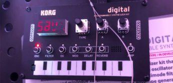 DIY-Synthesizer Korg NTS-1 Nu:tekt Digital Kit
