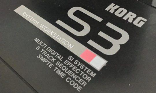 Black Box: Korg S3 Drummachine & Workstation