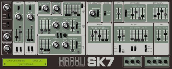 Krakli SK7 Screenshot