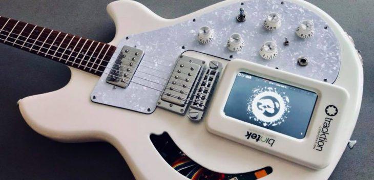 NAMM 2019: Lucem Custom Spirit Animal - der Synth in der Gitarre