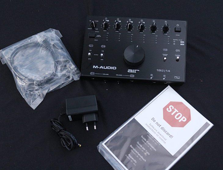 M-Audio AIR 192|14 Unboxing
