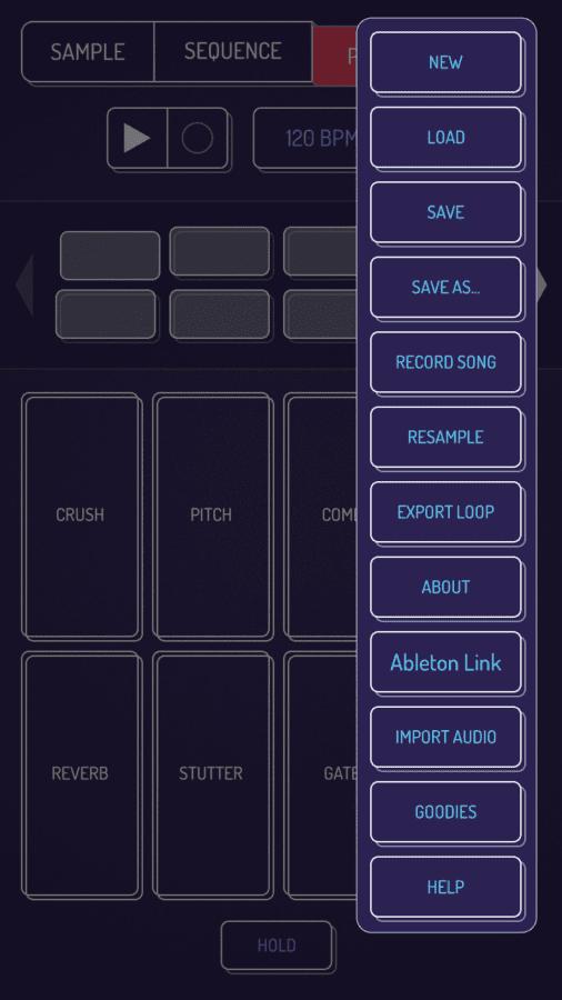 Marek Bereza Koala Sampler iOS Perform