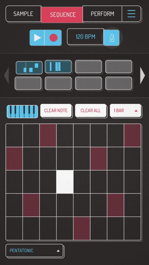 Marek Bereza Koala Sampler iOS Sequnezer Noten