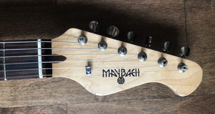 Maybach Stradovari E-Gitarre Headstock