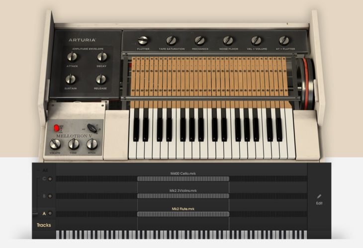 Arturia V-Collection 7 mit Casio CZ V, EMS Synthi V, Mellotron V