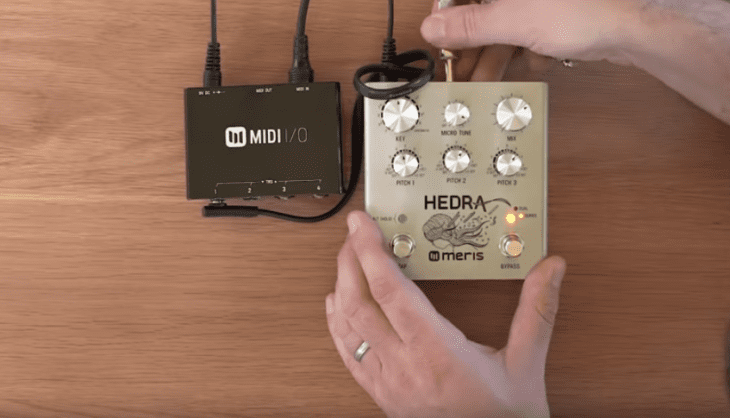 Meris Hedra Effektpedal für Gitarre