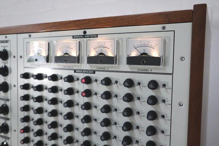 Colossus Sequencer und VU-Meter