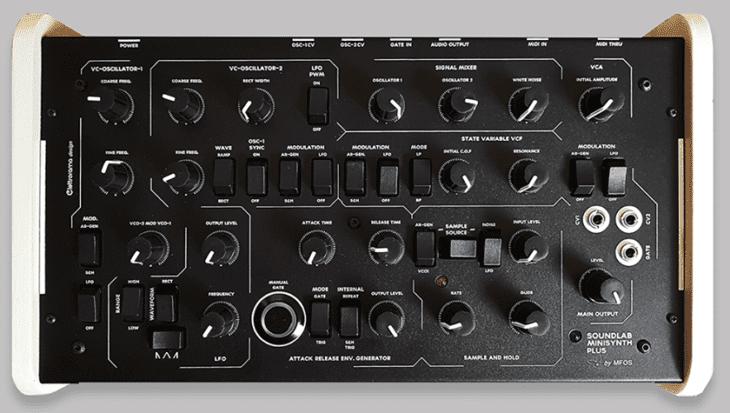 MFOS Soundlab Minisynth Plus