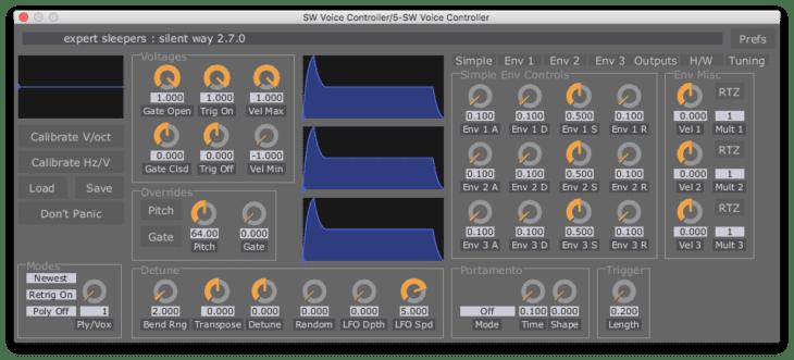 MIDI to CV Interface - Silent Way Voice Controller