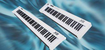 Test: Midiplus X-6 II, X-8 II, MIDI-Controllerkeyboard