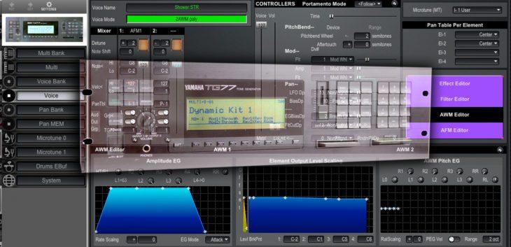 MIDIQuest 12 Pro, Software-Editor für Hardware-Synthesizer