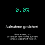 Mikme App Synchronisation