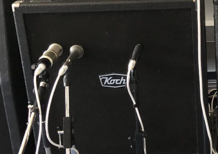 Workshop Gitarre Mikrofon