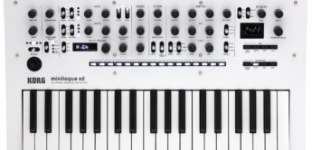 News: Korg Minilogue XD kommt als Pearl White Edition