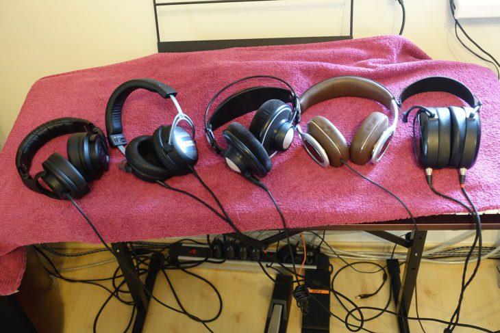 MrSpeakers AEON Closed mit anderen Kopfhörern