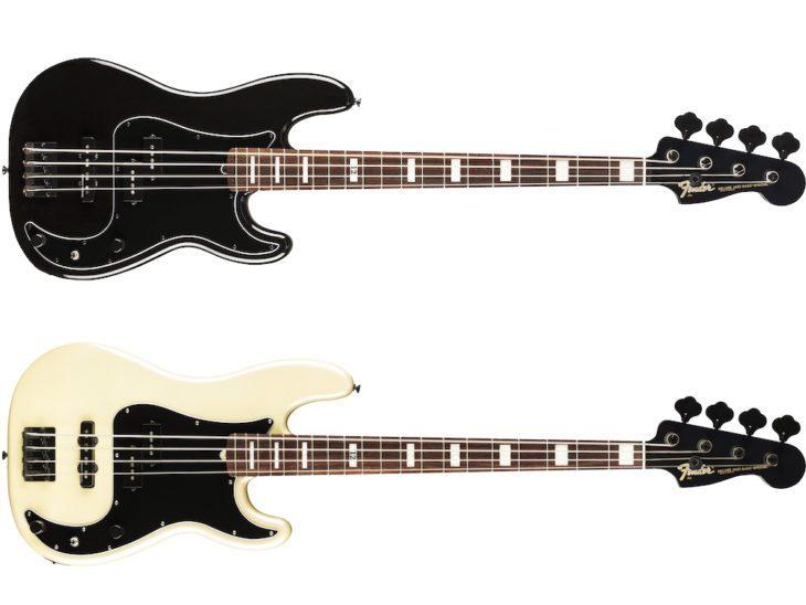 NAMM 2019: Fender präsentiert den Duff McKagan Dekuxe Precision Bass