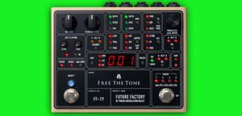 NAMM 2019: Free the Tone stellen das Future Factory vor