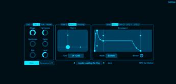 Neuer Phase Distortion Synthesizer NPD von Nikolozi für iOS