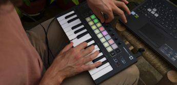 Novation stellt MIDI-Keyboard Launchkey Mini Mk3 vor