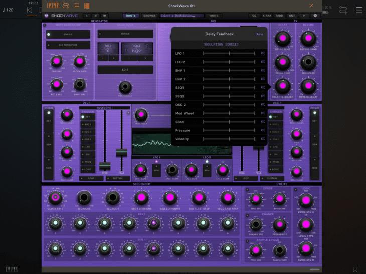 Numerical Audio Shockwave iOS AUv3 MOD