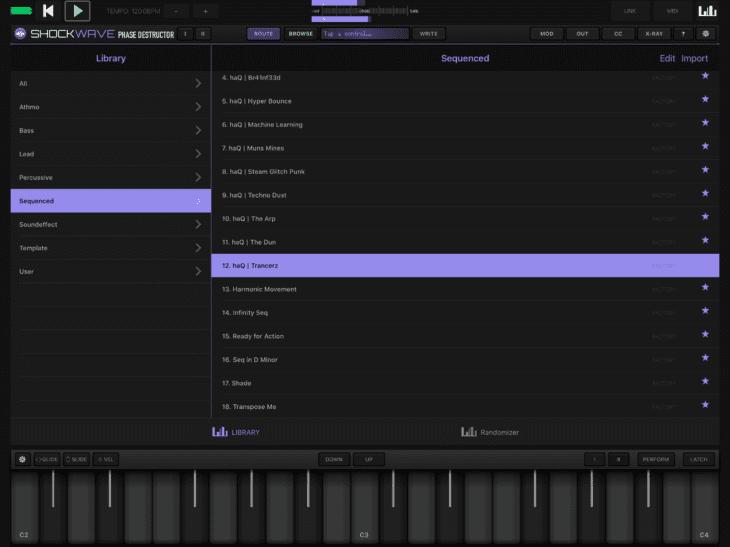 Numerical Audio Shockwave iOS Browser