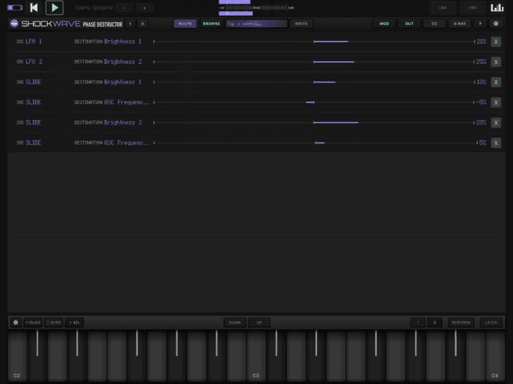 Numerical Audio Shockwave iOS MOD-Page
