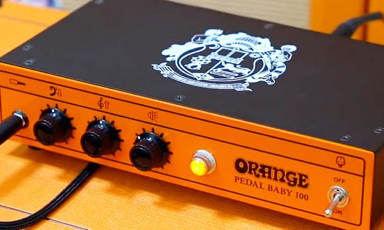 Test: Orange Pedal Baby 100, Gitarrenendstufe