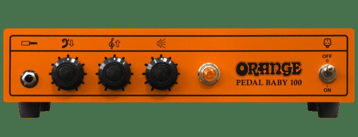 Orange Pedal Baby 100 front