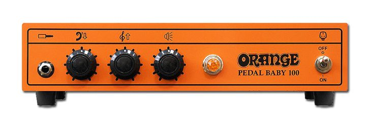Orange Tremlord Pedal Baby