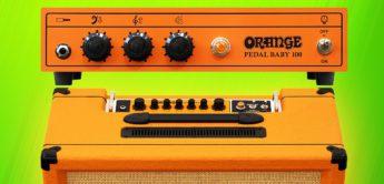 NAMM News 2019: Orange Tremlord 30 und Pedal Baby