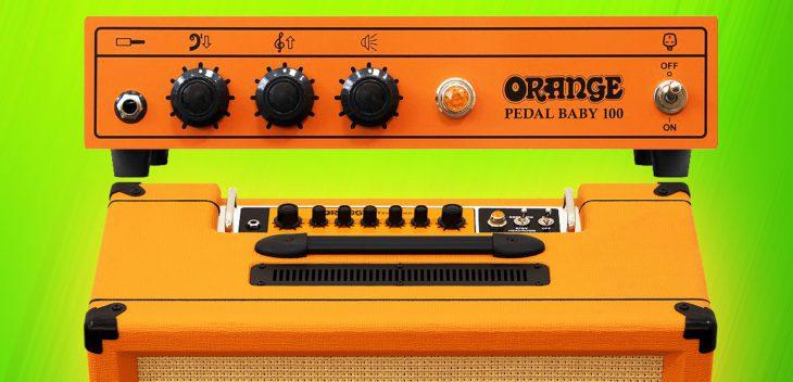 Orange Tremlord und Pedal Baby