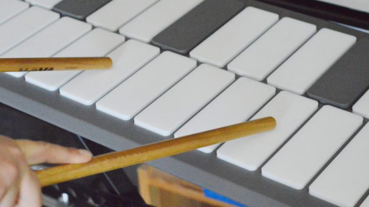 Pearl Malletstation EM1 - Aftertouch