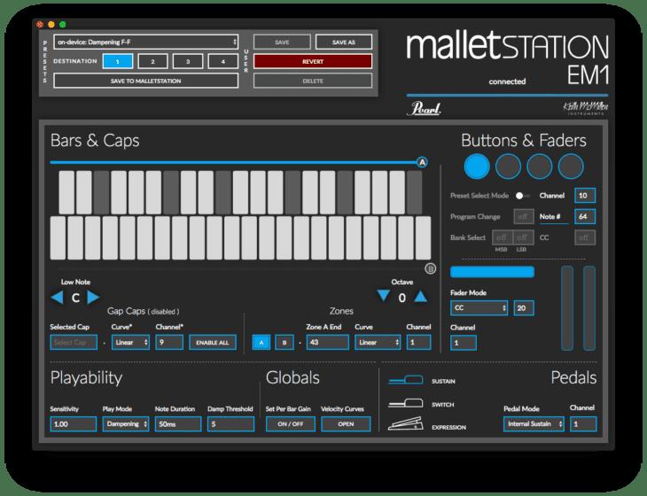 Pearl Malletstation EM1 - Editor