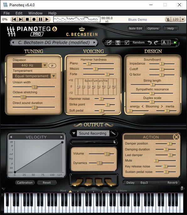 Pianoteq Pro 6 Übersicht