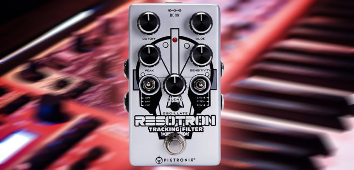 NAMM 2019: Pigtronix Resotron - 70er Jahre Synth-Sounds in Pedalform