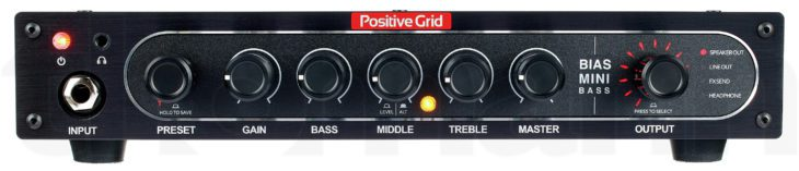 Positive Grid Bias Mini Bass