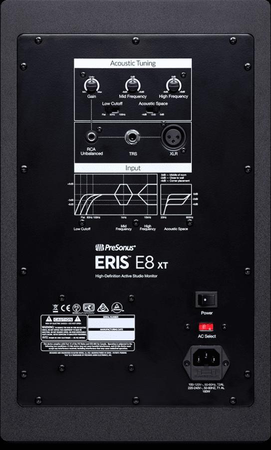 Presonus Eris E8 XT Rueckseite