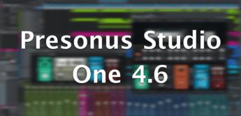 presonus studio one 4.6 update daw aufmacher