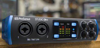 NAMM 2019: Presonus stellt USB-C Audiointerfaces 24c bis 1824c vor