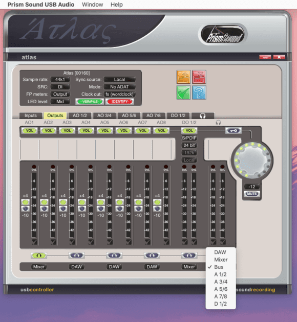 Prism Sound Atlas App