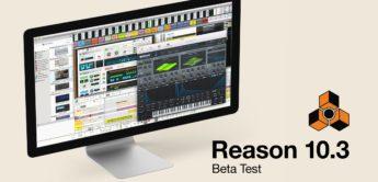 Propellerhead Reason stellt überarbeitete DAW 10.3 vor