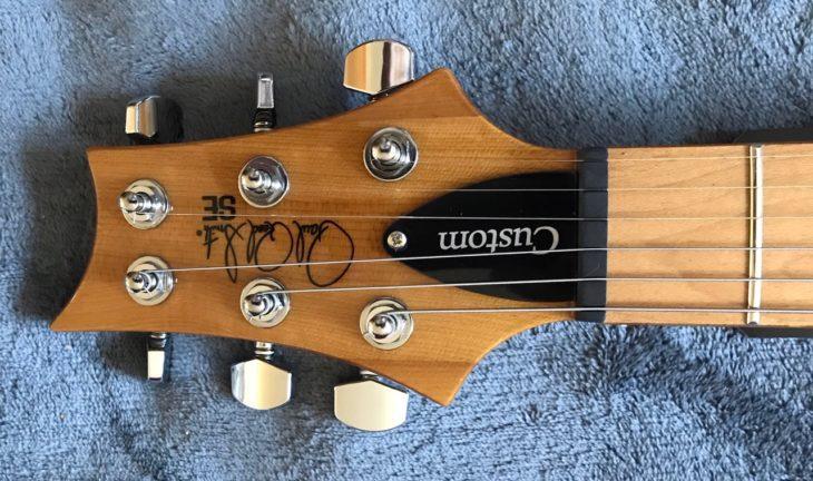 PRS SE Custom 24 Roasted Maple Kopf