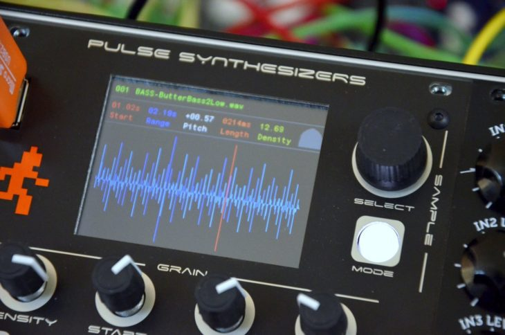 Pulse Synthesizers Load Runner - Display